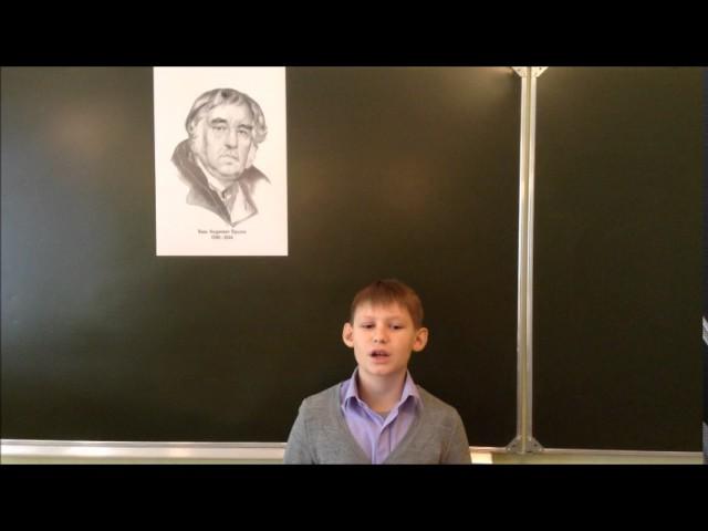 Изображение предпросмотра прочтения – ДмитрийГенералов читает произведение «Ворона и Лисица» И.А.Крылова
