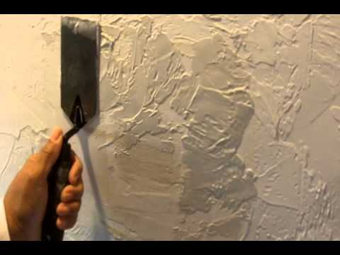 Repair a textured wall or ceiling with amazing results for How to sponge paint a wall without glaze