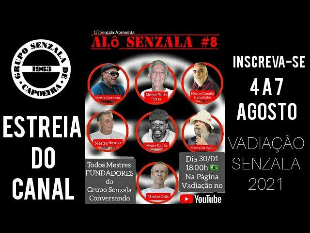 Alô Senzala # 8: Tous les fondateurs du Grupo Senzala Flores [en portugais]