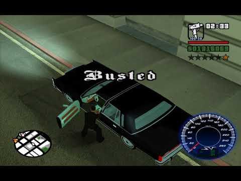 GTA SA Busted 4