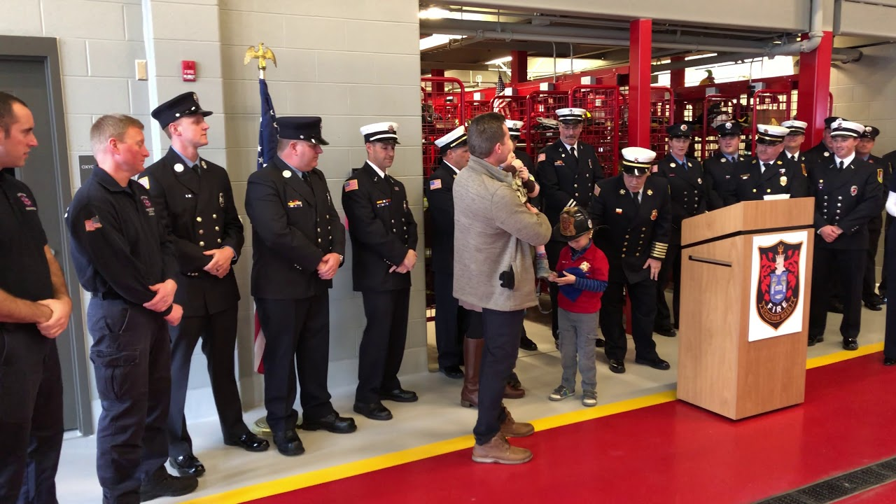 VIDEO: Chatham Fire makes seriously ill boy