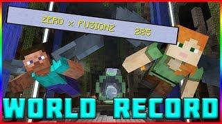 SCORE ATTACK WORLD RECORD TUTORIAL! Minecraft Xbox One Glide Mini Game