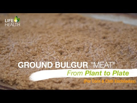 "Ground Bulgur ""Meat"""