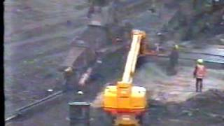 How not to Demolish a crane Australia (Nasty)