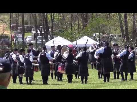 Jamestown Pipes and Drums - Grade 4 - Loch Norman Games 4-12-2014