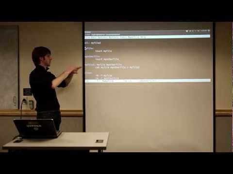 CU - AGSO - Introduction To Linux - Session 5 - Part 3 - GNU make and Makefiles