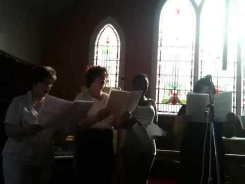 InterMission sing at Overend Methodist Mission
