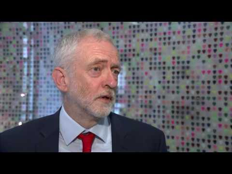 Jeremy Corbyn's reaction to the #ToryManifesto