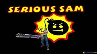 Serious Sam: The First Encounter gameplay (PC Game, 2001)