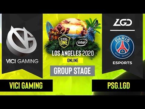 Vici Gaming vs PSG.LGD vod