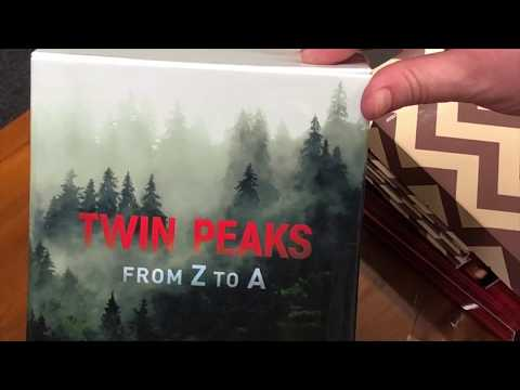 Twin Peaks UK Festival | Official UK Z-A Box Set Unboxing.