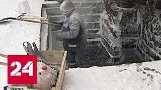 В Якутии корабли помогает чинить мороз