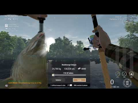 Fishing Planet Saint-croix Lake (XP Hunter/Level UP)