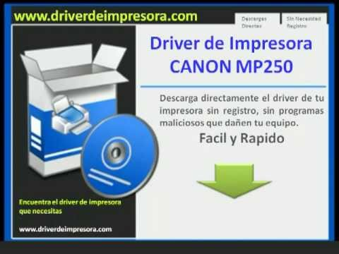 online driver free download canon mp250