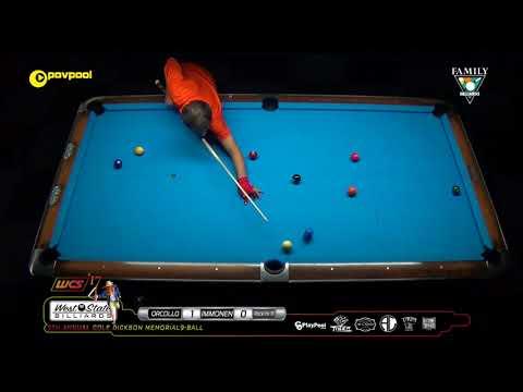 #17 FINAL • Mika IMMONEN vs Dennis ORCOLLO / 2017 Cole Dickson 9-Ball