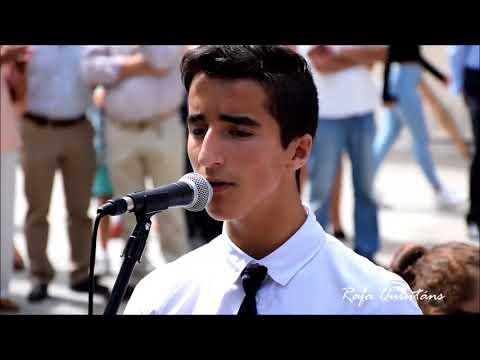 Banda de Cee con Alex Castro cantando