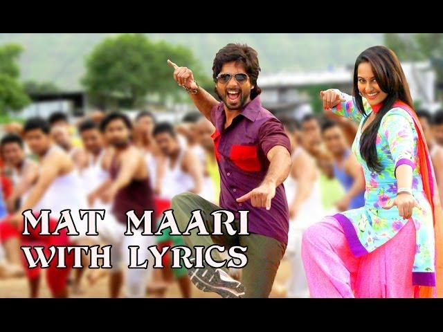 Mat Maari - Full Song With Lyrics - R...Rajkumar Travel Video