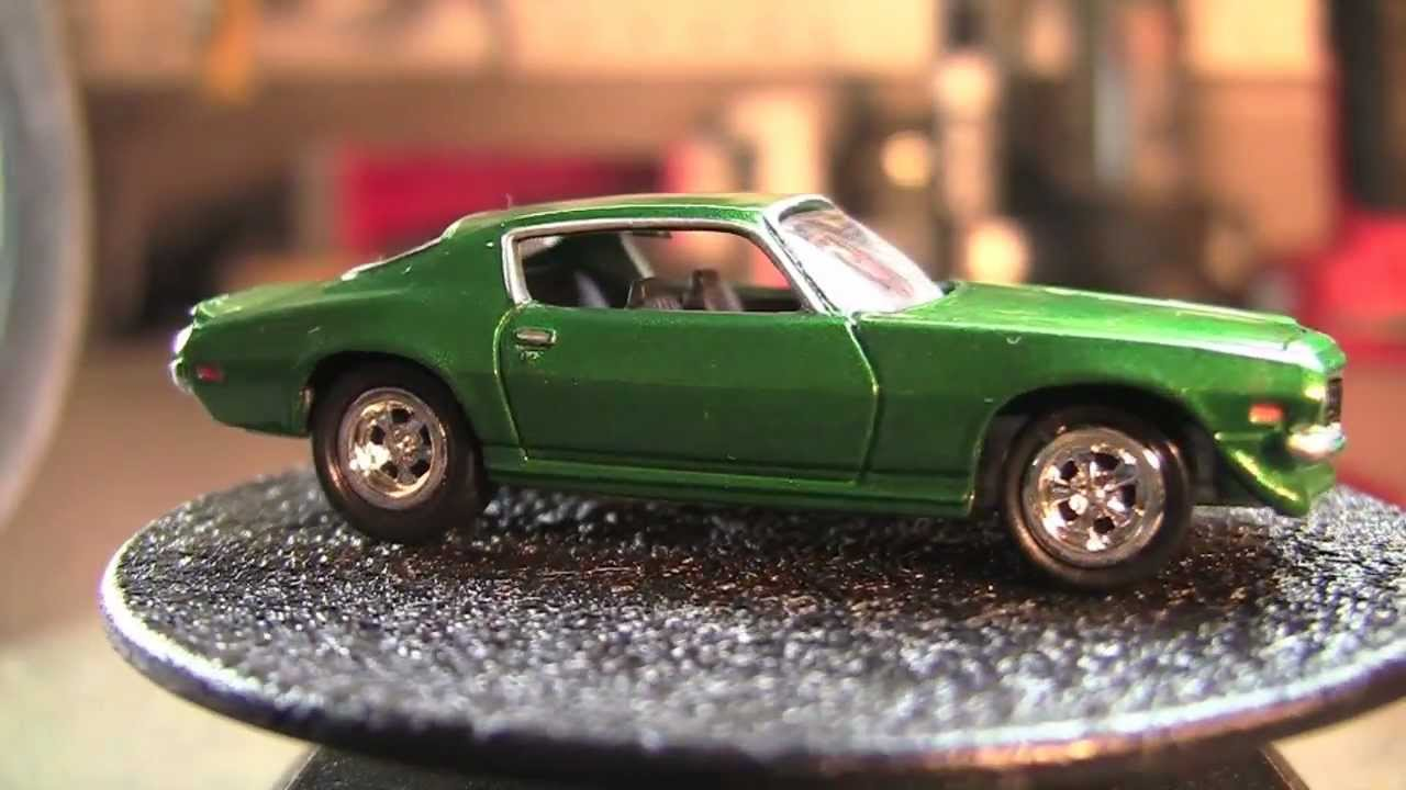 Johnny Lightning 1976 Chevy Camaro LT & 1972 Camaro RS ...