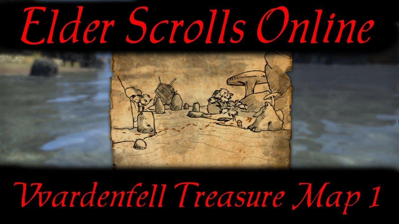 Carte Au Tresor Vvardenfell 1.Vvardenfell Treasure Map 1 Elder Scrolls Online Eso