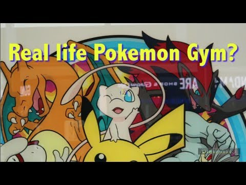 Real Life Pokemon Gym?