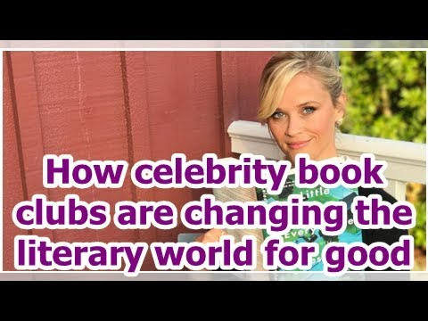 How celebrity book clubs are changing the literary world for good