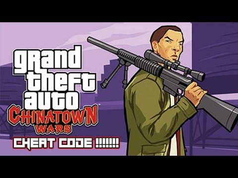 GTA Chinatown Wars(Cheat Code)!!!