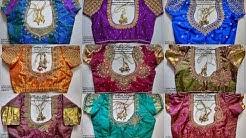 SEPTEMBER 2018 COLLECTIONS || Prabhas Designs || #Aari #embroidery #aariclasses #learnaari