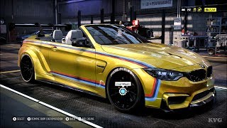 Need for Speed Heat - BMW M4 Convertible 2017 - Customize | Tuning Car (PC HD) [1080p60FPS]