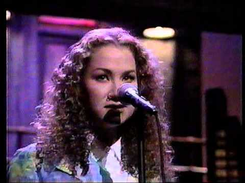 Joan Osborne 'One of Us' Late Show live studio performance