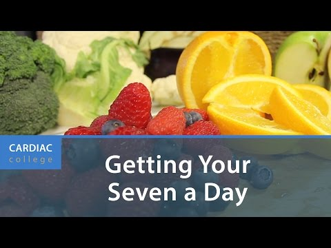 How to Eat More Fruit and Vegetables Every Day: Cardiac College