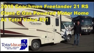 2016 Coachmen Freelander 21 RS Class C Gas Motor Home at Total Value RV Elkhat IN