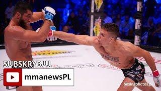 Babilon MMA 5: Kamil Oniszczuk jednogłośnie rozpracował Saida Magomeda