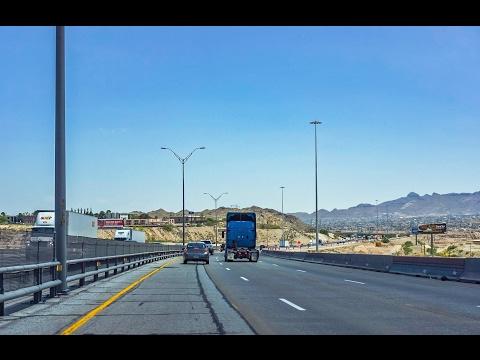 16-38 Interstate 10 Eastbound Through El Paso Texas