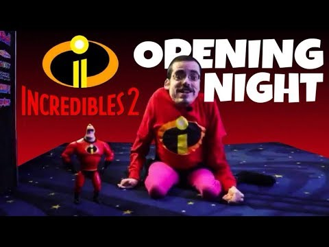 THE INCREDIBLES 2 OPENING NIGHT 💪 - Ricky Berwick