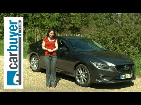 Mazda6 saloon 2013 review CarBuyer