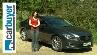 Mazda6 Saloon 2013 Review - Carbuyer