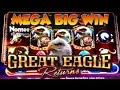 ★MEGA BIG WIN!!★ GREAT EAGLE RETURNS Slot Machine - SLOTS of WINS!! 😍🎰 Episode Eight