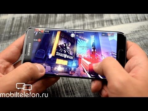 Игры на Samsung Galaxy S7 edge c Exynos 8 Octa 8890 (fps, температура) (game test)