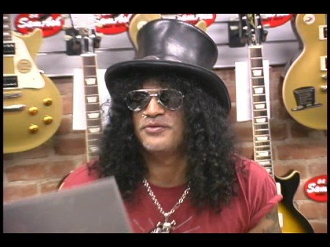 SLASH at Sam Ash