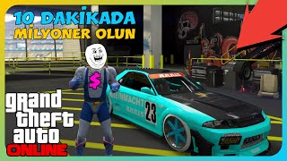 GTA Online - 10 Dakikada 30.000.000$ Araba Kopyalama (PS4/XB1)
