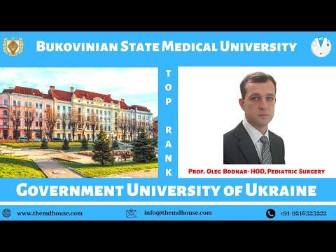 Bukovinian State Medical University I Paediatric Surgery Professor I MBBS IN UKRAINE
