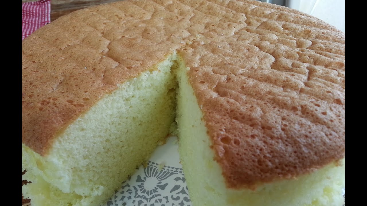 French Vanilla Sponge Cake Recipe