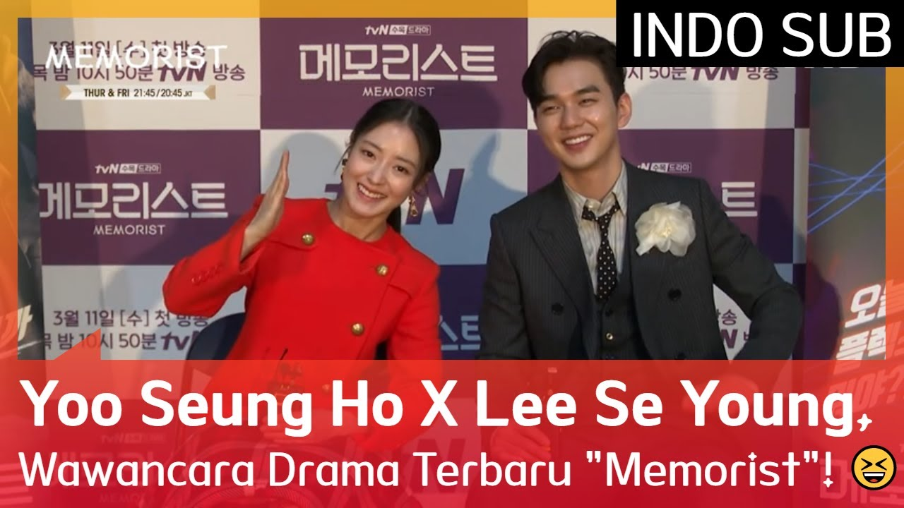 "Yoo Seung Ho X Lee Se Young, Wawancara Drama Terbaru ""Memorist""! 😆 #Memorist 🇮🇩INDO SUB🇮🇩"