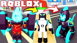 ROBLOX BEN 10 REBOOT! NEW OMNI-ENHANCED FLAME ALIENS, XLR8 AND CANNONBALL! FIGHTING GAMES