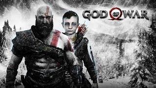 God of War 4. Часть 2  Прохождние.  Первый сложный бой