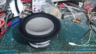 아큐톤스피커유닛 언박싱, accuton speaker …