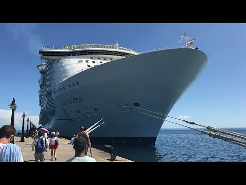 Allure of the Seas cruise Day 5 - St. Kitts - August 10th, 2017