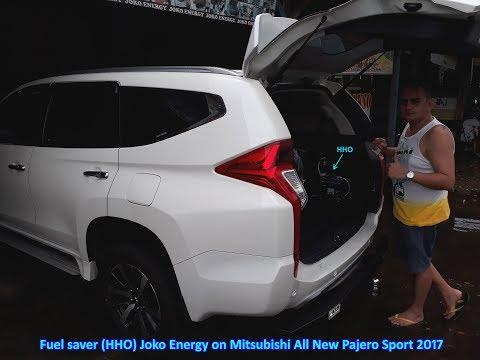 Fuel saver HHO Joko Energy on Mitsubishi All New Pajero Sport Dakar 2017 (9th)