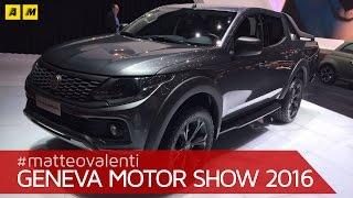 Fiat Fullback Concept 2016 Videos