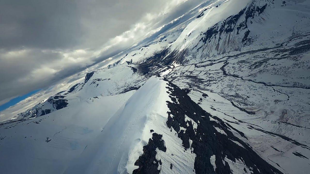 Dyrdalstinden - Stordal - Norway ( DJI FPV long rang 7inch ) фото